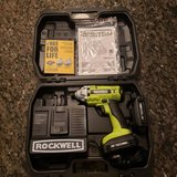ROCKWELL Lithiumtech 18-Volt 1/4-in Cordless Variable Speed Impact Driver in Batavia, Illinois