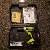 Rockwell RK2810K2 18-Volt Lithiumtech Lithium-Ion Cordless Drill Driver in Batavia, Illinois