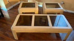Coffee table with matching end tables in Fairfield, California