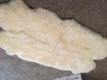 NEW Sheepskin Rugs 4' X 6 ' approx. in Clarksville, Tennessee