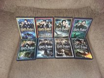 Harry Potter DVDs, all 8-films for $30 in Alamogordo, New Mexico