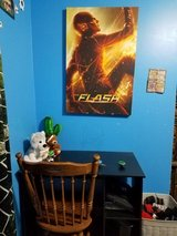 Flash canvas poster in Beaufort, South Carolina