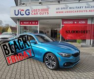 2020 BMW 4 Series 430i AWD Black Friday Special in Spangdahlem, Germany