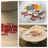 Vintage Christmas Cake Stand in Beaufort, South Carolina