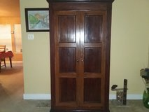 Armoire (solid wood) in Conroe, Texas