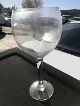 Giant Wine Glass in Fairfield, California