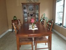 Dining table and hutch in Conroe, Texas