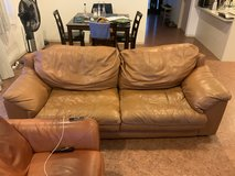 FREE Leather Sofa Couch in Okinawa, Japan