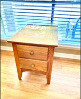 Real Wood Homestyle End Table *with 2 storage compartments* in Birmingham, Alabama
