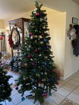 7ft Christmas tree with decorations in Fairfield, California