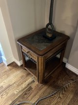 center and end tables from The Dump in Sugar Land, Texas