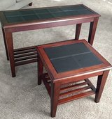 sofa table and matching end table in Sugar Grove, Illinois
