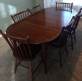 dining room table + chairs in Sugar Grove, Illinois