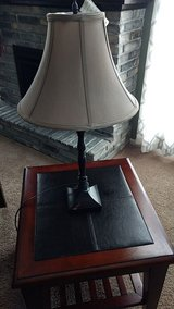 Table lamp + shade in Sugar Grove, Illinois