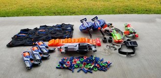 NERF guns and accessories.  HUGE collection! in Kingwood, Texas