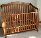Crib, Toddler bed, Full size bed in Sugar Grove, Illinois