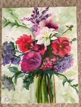 Original Acrylic Floral Painting Canvas in St. Charles, Illinois