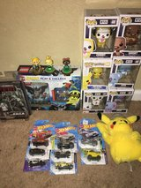 Funko pops hot wheels Star Wars pokémon in 29 Palms, California