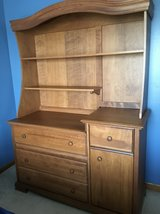 Dresser with Bookshelf or Changing Table in Plainfield, Illinois