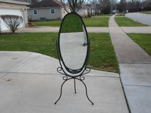 Full length Mirror with metal stand in Oswego, Illinois