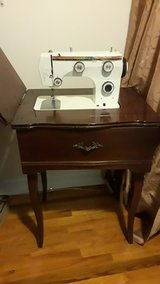 Vintage Sewing Machine with Cabinet in West Orange, New Jersey
