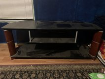 Glass tv console from Wayfair in Fort Polk, Louisiana