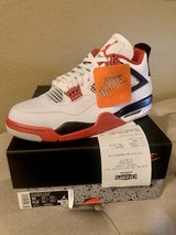 New Jordan Retro 4 Fire Red Size 10 in Fairfield, California