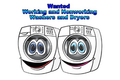 WE PAY CASH FOR non-working and working Washers and Dryers in Alamogordo, New Mexico