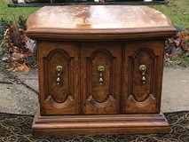 2 Vintage Wood End Tables in Chicago, Illinois
