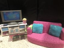 American Girl Tv/couch living room set in Chicago, Illinois