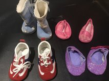 Doll shoes-4 pairs in St. Charles, Illinois