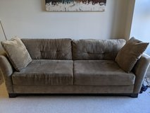 Couch in taupe color in very good condition (will take best offer) in Fort Belvoir, Virginia