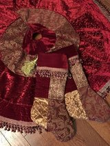 Christmas Tree skirt & stockings in Chicago, Illinois
