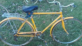 old Raleigh bike for parts in Chicago, Illinois