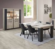 United Furniture - Hercules Dining Set - China - Table - Chairs - Delivery in Baumholder, GE