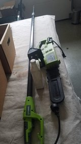 Electric Chainsaw with Extension Pole in Aurora, Illinois