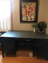 Mid-Century Steel Tanker Desk in Sugar Grove, Illinois