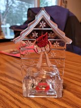 Mikasa... Cardinal Birdhouse  Tealight Holder in St. Charles, Illinois