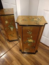 Gold Leaf Oriental Cabinet in Beaufort, South Carolina