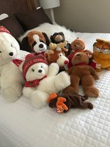 Stuffed animals in Camp Pendleton, California