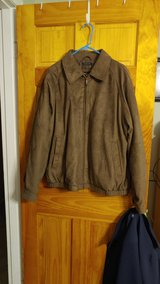 Claiborne Mens XL Suede Jacket in Beaufort, South Carolina