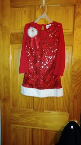 Red Sparkle Girls Holiday Dress - Size 6 in Beaufort, South Carolina