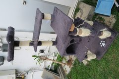 6' tall cat tower in Okinawa, Japan