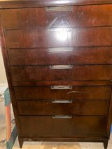 Deep Expresso 7 drawer dresser in Quantico, Virginia