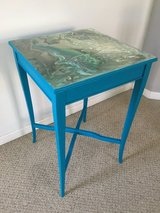 Hand Painted Wood Table in Sugar Grove, Illinois