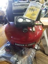 Porter Cable Air Compressor and Nailer Combo! in Columbus, Georgia