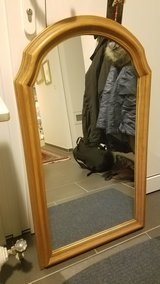 Mirror with solid oak frame in Ramstein, Germany