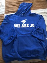 "Junction City Bluejay Sweat Shirt Large-We Are JC"" in Fort Riley, Kansas"