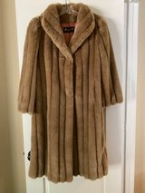 Beautiful Faux Fur Coat in Conroe, Texas