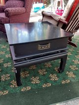 Black end table in The Woodlands, Texas